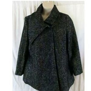 Preston&York Plus Wool-Blend Coat New With Tags